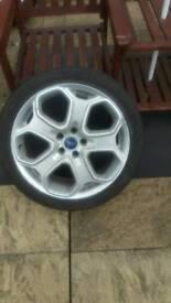 Ford focus alloy titanium zetec s