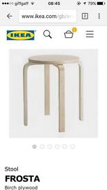 Ikea stool x3