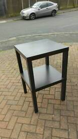 Black Table Unit/Stand.