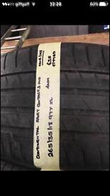 265/35/18 97Y XL CONTINENTAL SPORT CONTACT3 MO TYRE.