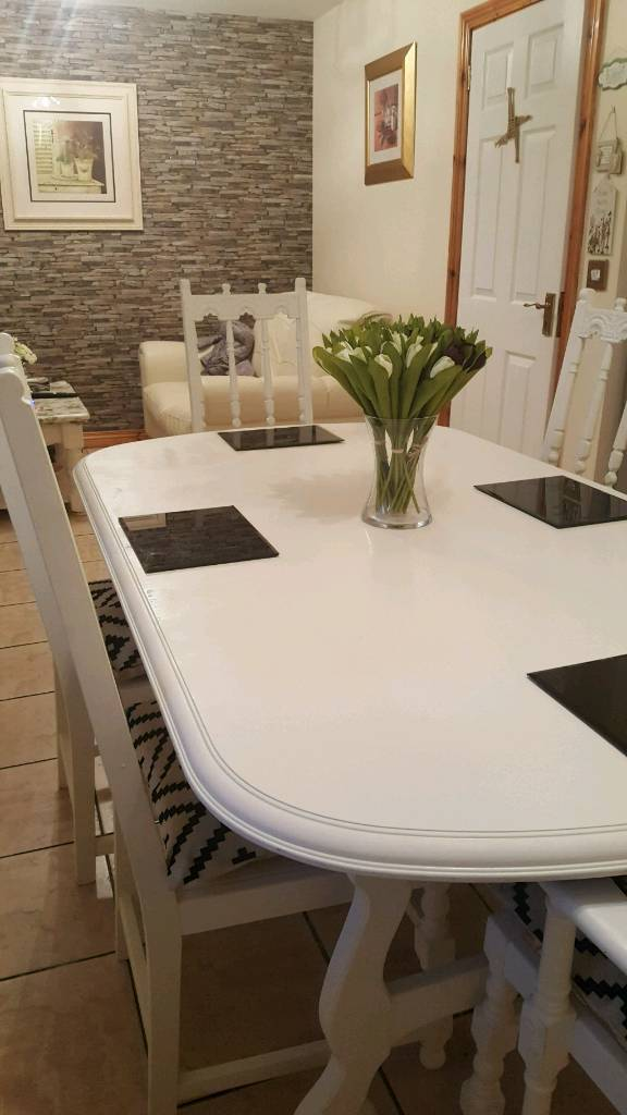 Sensational Stunning Kitchen Dinning Room Table And Chairs For Sale In Castlewellan County Down Gumtree Caraccident5 Cool Chair Designs And Ideas Caraccident5Info