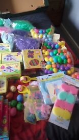 Large bundle of easter items