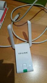 TP-LINK TL-WN822N 300 Mbps High Gain Wireless N USB Adapter, White