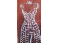 OFFERS!!- DRESSMAKERS FULL BODY SIZED VINTAGE WIRE MANNEQUIN- OFFERS!!