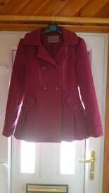 HOODED JACKET SIZE 8