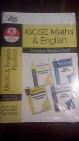 Gcse maths and English revision pack