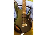 Sterling by Music Man JP-60 Electric Guitar with Dimarzio's (John Petrucci sig) Mystic Green