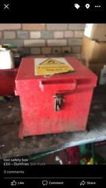 Tool box saftey box