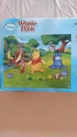 Mural: kids Winnie the pooh