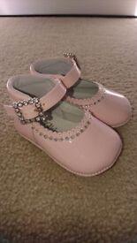 Designer baby pram shoes