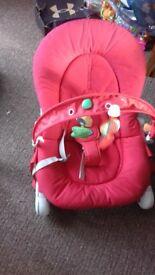Baby boucher chair