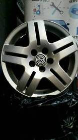 "Genuine 15"" VW Mk4 Golf Alloys"