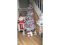 Christmas tree & decorations
