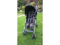 OBABY PUSHCHAIR STROLLER WITH RAIN COVER
