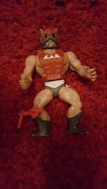 Vintage he man figure for sale.......