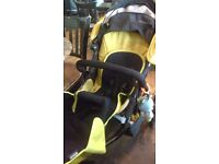 Phil and Teds double pushchair in very good condition