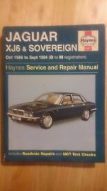 Jaguar XJ6 & Sovereign book