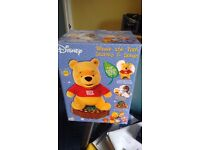 Winnie the Pooh toy with stories&songs,in original box,unwanted unopened gift,bargain to go!