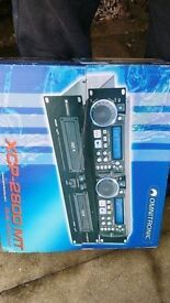 OMNITRONIC XCP-2800 MT Dual-CD MP3 Player SEALED PACKED NEW in Box.