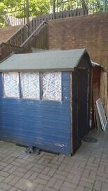 2 sheds made in 1 aviary