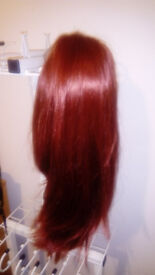 Good quality red hair wig