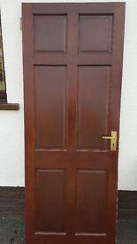Mahogany doors for sale 78 x 30.