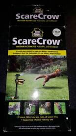 Motion activated scarecrow