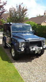Landover Defender 90 XS SW SWB 2.4. Blue 2009.6 speed box. 4 seats. Mileage 58k. Very smart