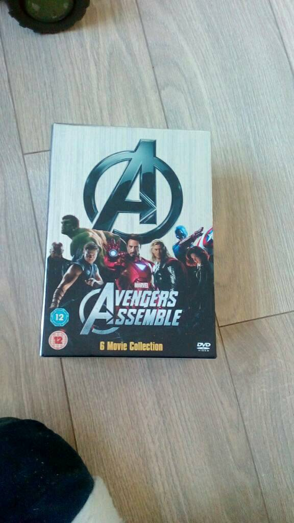 Box set dvd avengers