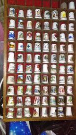 Collectors item thimbles