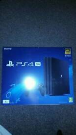 PS4 PRO SEALED BRAND NEW IN BOX