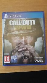 CALL OF DUTY COD WORLD AT WAR WWII 2 SONY PLAYSTATION 4 PS4