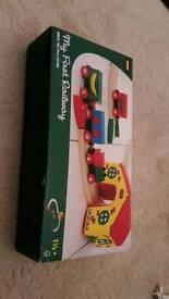My first railway toy