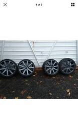 VW BORA HIGHLINE 1.9 TDI 19''GENUINE RS4 ALlOYS