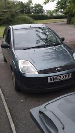 Ford Fiesta 1.3 2002 year mot