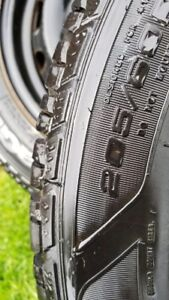 USED ONCE Goodyear UltraGrip winters 205/60-R16