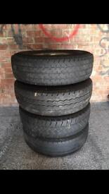 Ford transit rims and tyres