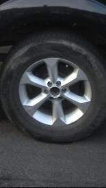 Nissan navara Spain wheel