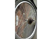 "Lightweight Alloy Back Wheel 26"" for Mountain Bike"