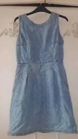 Firetrap Denim Dress - Size 8