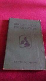 British Isles Pocket Atlas by Bartholomew