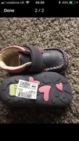 Girls brand new Clark's shoes