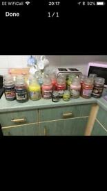 Yankee candles £10