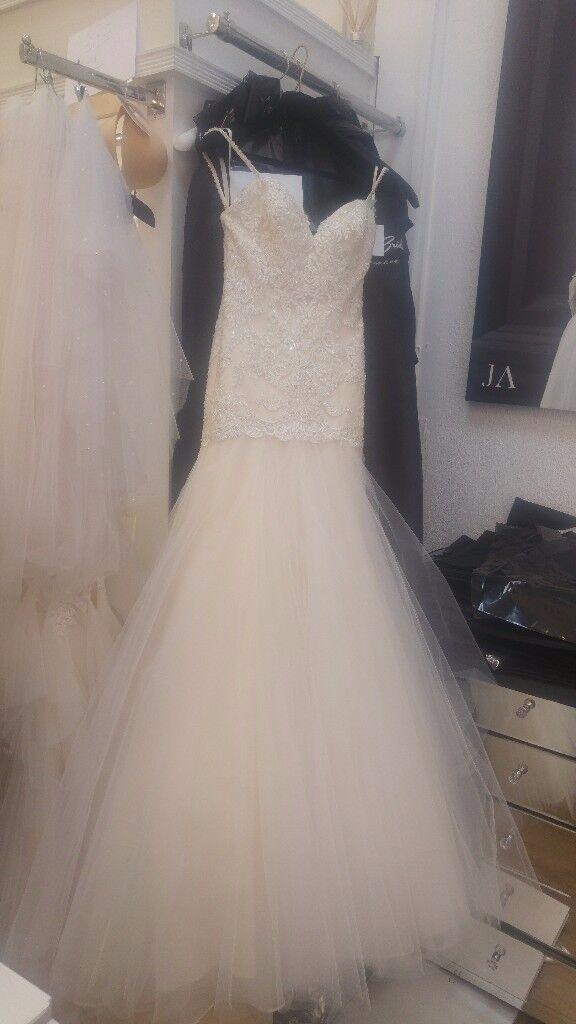 Mori Lee Wedding Dress Fishtail Size 8