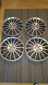 Borbet Ls70738 Alloy Wheels - New set of 4 without box (small dent on one see pic)