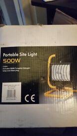 PORTABLE SITE LIGHTS 110V