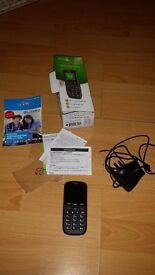 Doro PhoneEasy 506 Black (Unlocked) Big Button Mobile