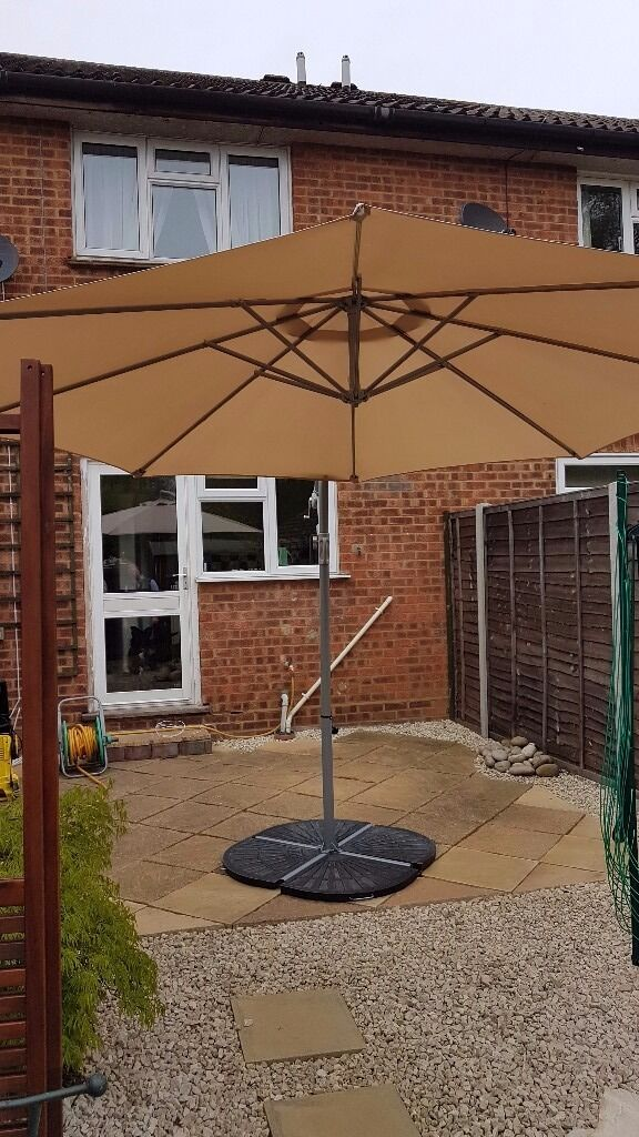 Scenic Almost New Banana Parasol Garden Patio Umbrella And Support  With Licious Almost New Banana Parasol Garden Patio Umbrella And Support Homebase Argos With Beauteous Green Garden Chairs Also Family Garden Laredo Tx In Addition Ladies Gardening Gloves And Osteopath Welwyn Garden City As Well As Garden Houses Additionally Garden Walls Ideas From Gumtreecom With   Licious Almost New Banana Parasol Garden Patio Umbrella And Support  With Beauteous Almost New Banana Parasol Garden Patio Umbrella And Support Homebase Argos And Scenic Green Garden Chairs Also Family Garden Laredo Tx In Addition Ladies Gardening Gloves From Gumtreecom