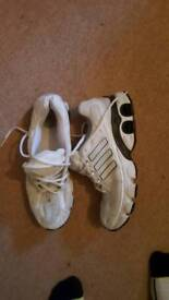 Adidas trainers & pele boots