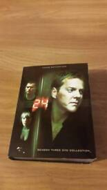 Dvd box set 24 series three 8 cd